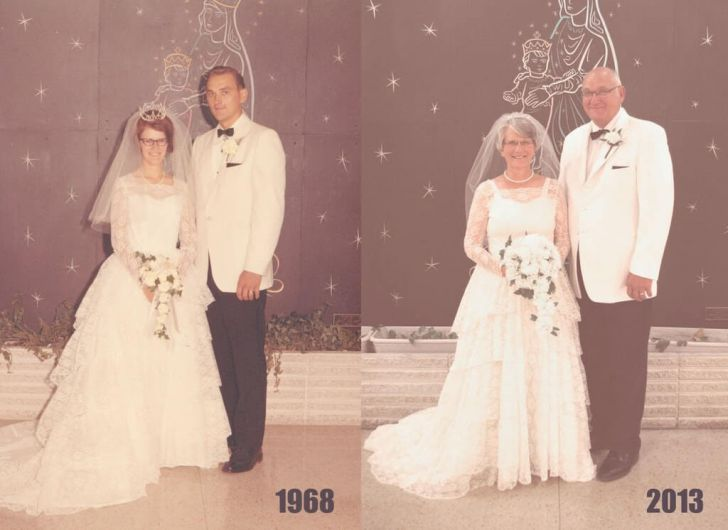 20 Couples Restored Our Faith In Love By Recreating Old Photos_2